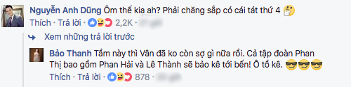 Đăng ảnh tình tứ ôm Việt Anh, Bảo Thanh bị
