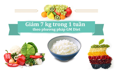 Giảm 7kg một tuần nhờ chế độ ăn uống, phương pháp General motor diet
