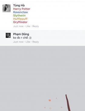 Trò mới: Bắn pháo hoa với đũa phép trên Facebook