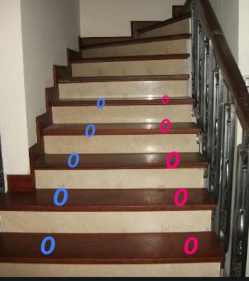 Cả nhà phải tuân theo khi lên xuống thang.