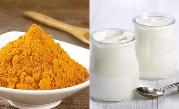 3 công thức chăm sóc sắc đẹp hoàn hảo với sữa chua bột nghệ