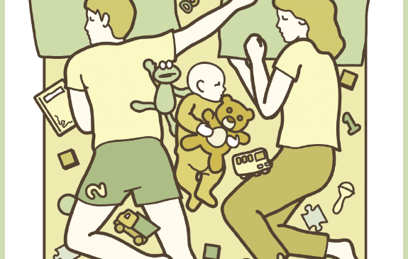 Chùm ảnh vui: Chuyện gì sẽ xảy ra khi bố mẹ cho con ngủ chung?