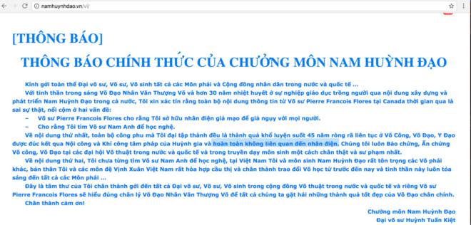 Nam Huynh Dao giai thich ve cong phu 'truyen dien' hinh anh 1
