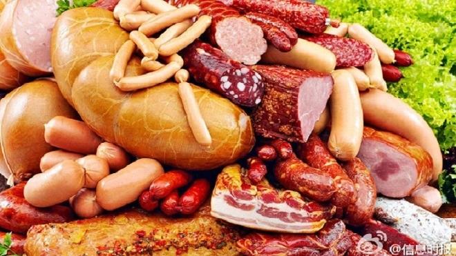 Ăn thịt xông khói và các loại thịt chế biến khác làm tăng nguy cơ ung thư ở vùng bụng (chẳng hạn như ung thư đại trực tràng) (Ảnh: Internet)