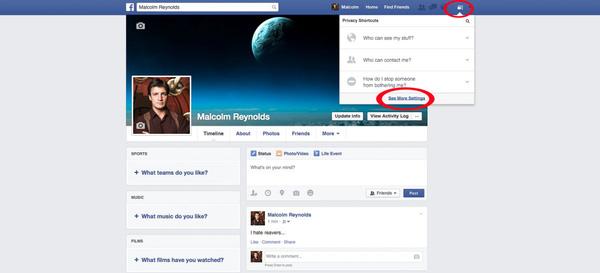 """14 bước để hoàn toàn """"vô hình"""" trên Facebook"""