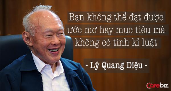 """Cách dạy con """"không thành công cũng phải thành danh"""" của Lý Quang Diệu"""