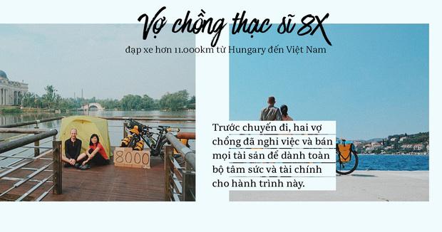 Đôi vợ chồng Việt - Hung đạp xe hơn 11.000km từ Hungary về Việt Nam - Ảnh 6.