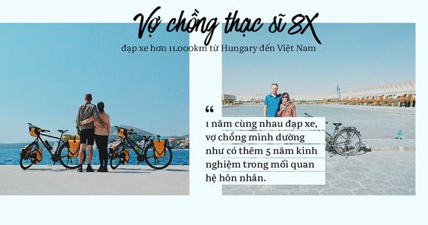 Đôi vợ chồng Việt - Hung đạp xe hơn 11.000km từ Hungary về Việt Nam - Ảnh 7.