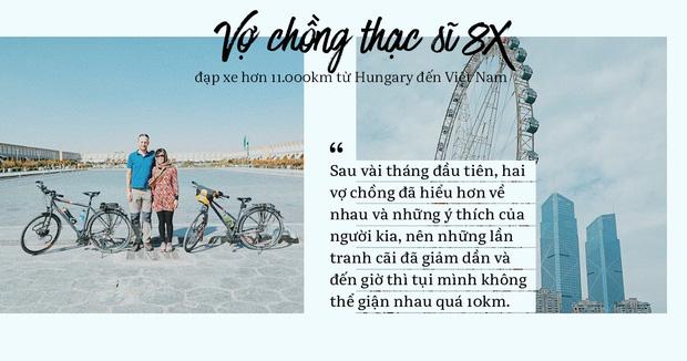 Đôi vợ chồng Việt - Hung đạp xe hơn 11.000km từ Hungary về Việt Nam - Ảnh 9.
