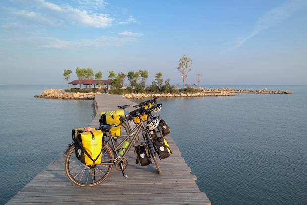 Đôi vợ chồng Việt - Hung đạp xe hơn 11.000km từ Hungary về Việt Nam - Ảnh 13.