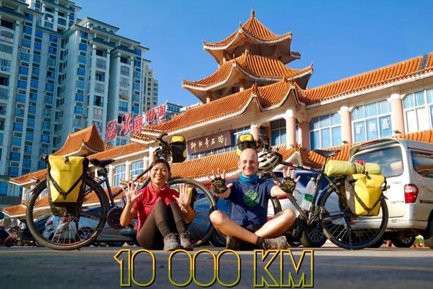 Đôi vợ chồng Việt - Hung đạp xe hơn 11.000km từ Hungary về Việt Nam - Ảnh 19.