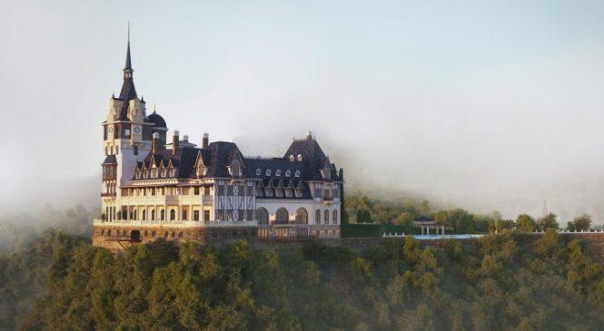 Lần đầu tiên Việt Nam có tòa lâu đài châu Âu diễm lệ như cổ tích trị giá ngàn tỷ giữa bạt ngàn Tam Đảo