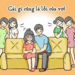 Bộ ảnh CÁI GÌ CŨNG LÀ LỖI CỦA VỢ khiến nhiều chị em rớt nước mắt đồng cảm