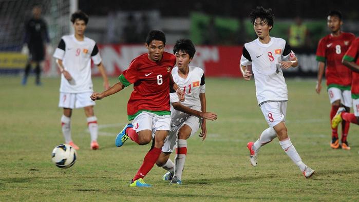 U22 Indonesia, U22 Việt Nam, Bóng đá SEA Games 29