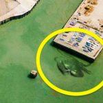 10 hình ảnh kỳ lạ của Trái đất qua Google maps