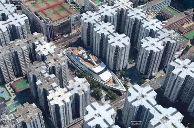 Nhờ Google maps người ta nhìn thấy những hình ảnh này trên Trái đất - Ảnh 3.