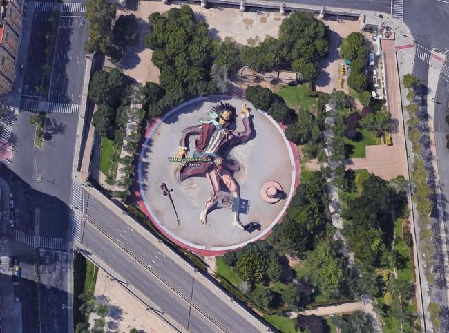 Nhờ Google maps người ta nhìn thấy những hình ảnh này trên Trái đất - Ảnh 5.