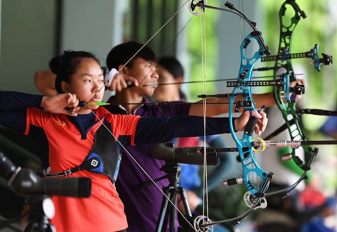 VĐV Việt Nam tăng tốc cho SEA Games 29