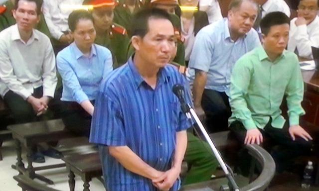 Trần Văn Bình khai bản thân chỉ là lái xe.