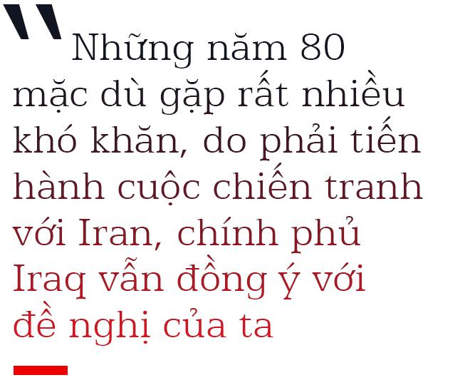 Đại sứ Nguyễn Quang Khai kể về cuộc gặp Nguyễn Thị Bình - Saddam Hussein và việc Iraq xóa nợ cho Việt Nam - Ảnh 4.