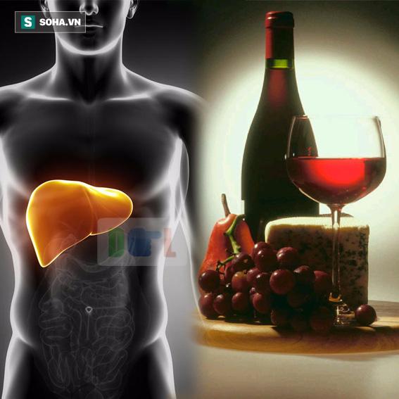 Nếu uống rượu, đây là cách thải độc và làm sạch gan rất tốt mà bạn nên áp dụng - Ảnh 1.