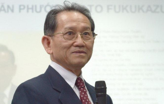 """Ông Đinh Văn Phước: """"Khi xem kỷ luật là một đức tính, nghiêm khắc là một tư cách phải có, hai yếu tố đó sẽ giúp ta tiến bộ"""" - Ảnh: TỰ TRUNG"""