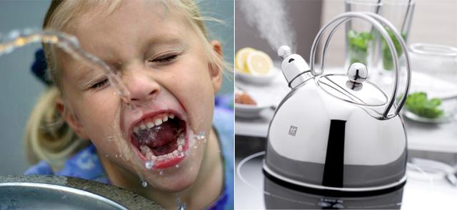 Nước lọc từ máy lọc, nên uống sống trực tiếp hay đun sôi?