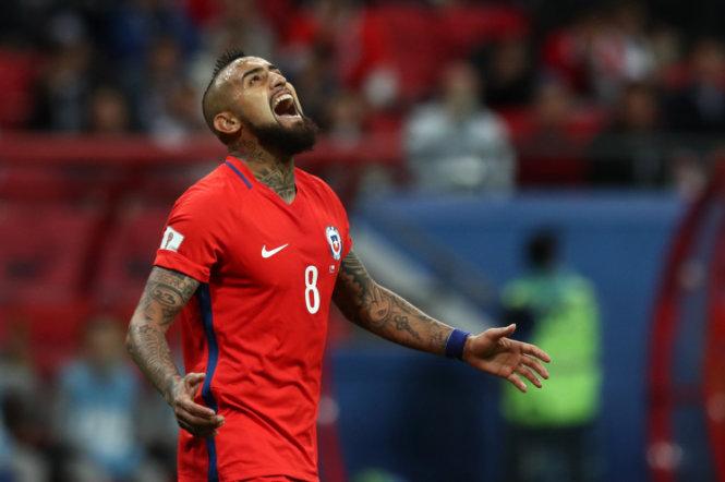 Sanchez và những ngôi sao châu Mỹ ngồi nhà xem World Cup 2018