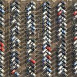Bãi đỗ ôtô nghìn chỗ của những tài xế 'kỷ luật thép'