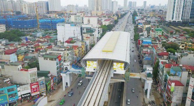 Tập đoàn Canada muốn làm đường sắt đô thị nối Nội Bài – Hồ Tây