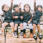 Mẹ chơi với nhau thời ĐH, lên 3 tuổi các con đã có bộ ảnh cùng hội bạn thân siêu đáng yêu