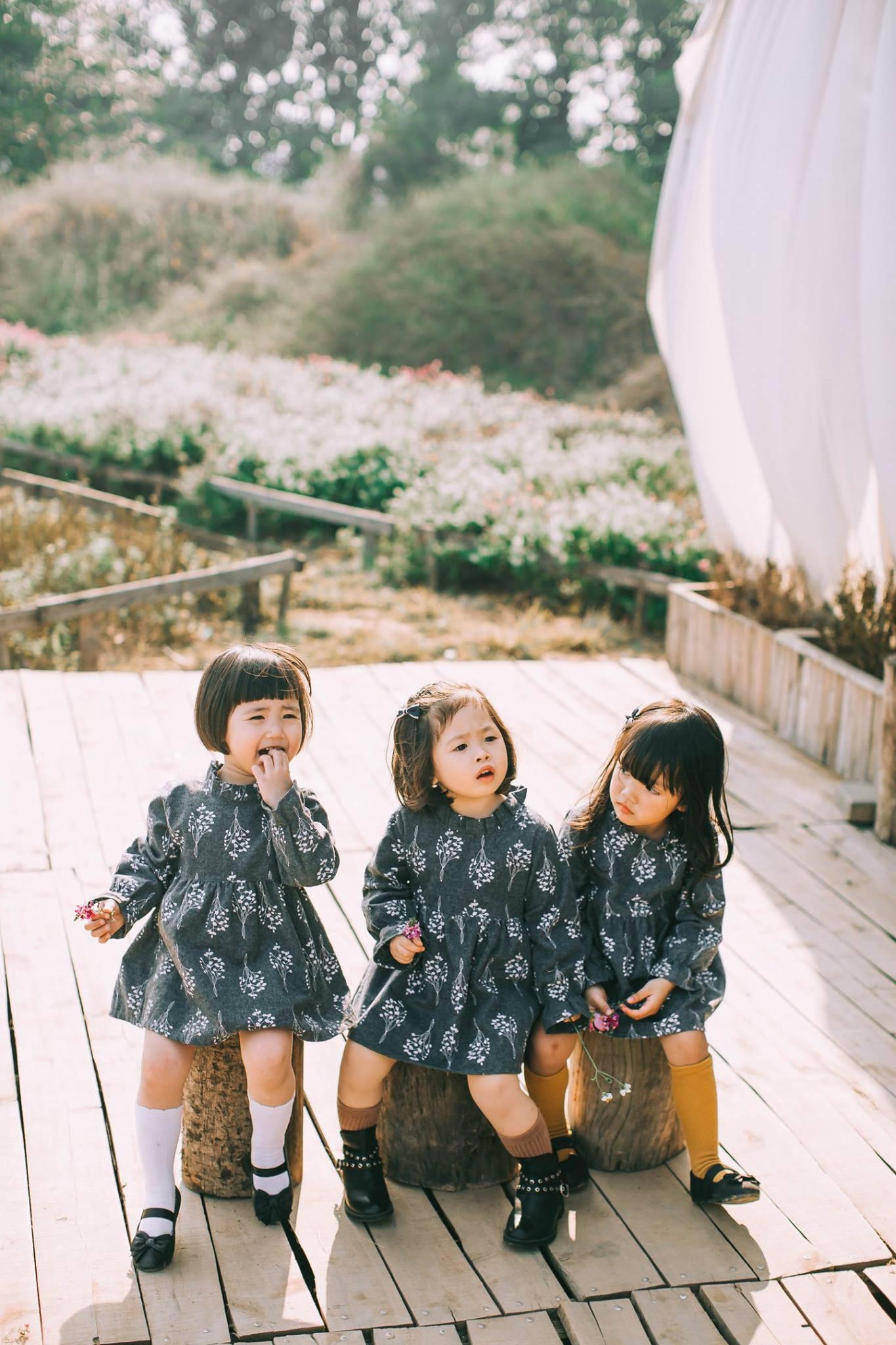 Mẹ chơi với nhau thời ĐH, lên 3 tuổi các con đã có bộ ảnh cùng hội bạn thân siêu đáng yêu - Ảnh 7.