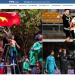 FIFA, AFC, báo châu Á đồng loạt đăng tin Việt Nam ăn mừng thâu đêm suốt sáng