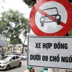 Hà Nội cấm đường Uber, Grab như taxi truyền thống