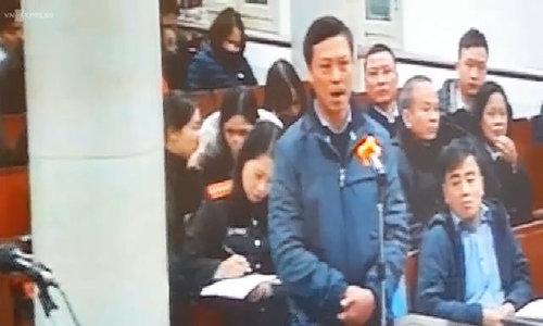 Ông Vũ Huy Quang - TGĐ PV Power tại tòa sáng 10/1