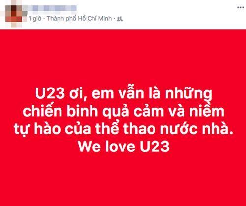 Các cầu thủ U23 Việt Nam được ví với các chiến binh.