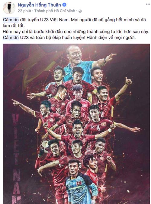 Mạng xã hội tràn ngập lời cảm ơn U23 Việt Nam - 8