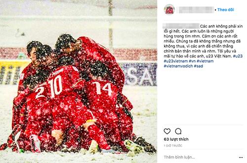 Mạng xã hội tràn ngập lời cảm ơn U23 Việt Nam - 10