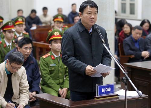 Ông Đinh La Thăng nói lời sau cùng tại tòaTitle