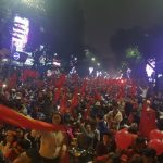 U23 Việt Nam vuột cúp vàng, biển người vẫn đổ về Hồ Gươm