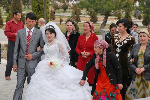 Một đám cưới ởUzbekistan. Ảnh minh họa: Globaltableadventure.