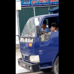Đề nghị xác minh, xử lý nghiêm việc cho bé trai lái xe tải