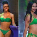 Đối thủ của Hương Giang tại vòng bikini: Thí sinh Colombia lộ vòng 3 dị dạng, người đẹp Nepal bụng to như mang bầu