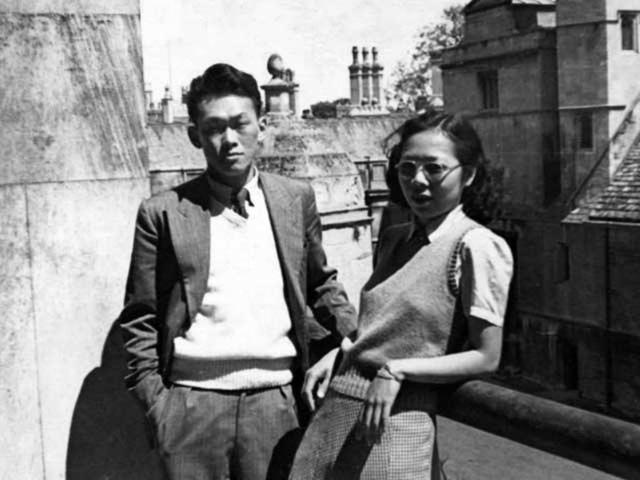 Ông Lý Quang Diệu và bà Kha Ngọc Chi khi còn trẻ. Ảnh: Google Images