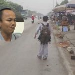 Cảm động chàng trai khuyết tật đi bộ 2.000 km từ Sài Gòn ra Hà Nội để đăng ký hiến tạng