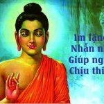 Im lặng là vàng, nhẫn nhịn là bạc, giúp người là đức, chịu thiệt là phúc