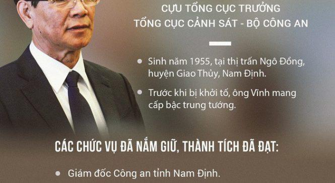 Lý do khiến cựu tổng cục trưởng cảnh sát Phan Văn Vĩnh bị bắt