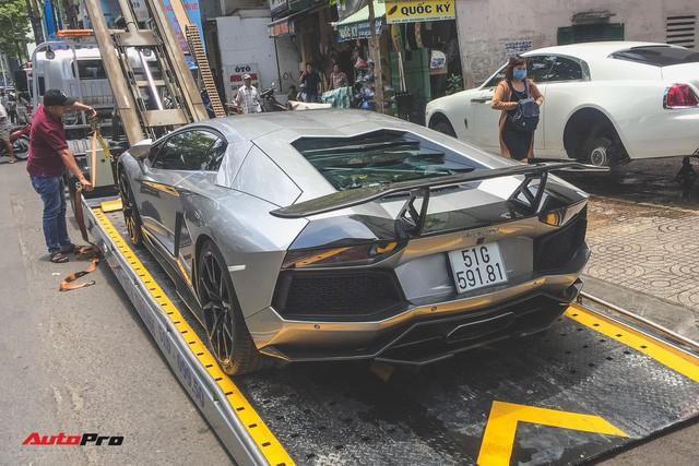 Ông chủ cafe Trung Nguyên tậu Lamborghini Aventador DMC độc nhất Việt Nam - Ảnh 1.