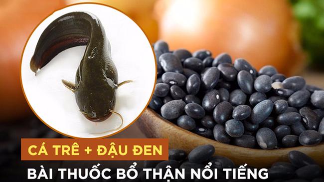 Bài thuốc bổ thận từ cá trê và đậu đen: Quý ông yếu thận không thể không ăn