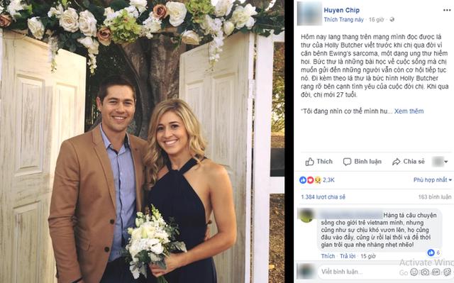 Lời nhắn nhủ của cô gái 27 tuổi qua đời vì ung thư làm dậy sóng MXH khiến tất cả giật mình: Hãy bỏ điện thoại xuống  - Ảnh 1.